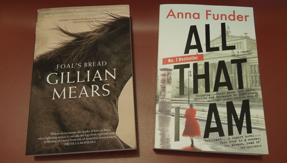 Recent Australian reads ... both of which I